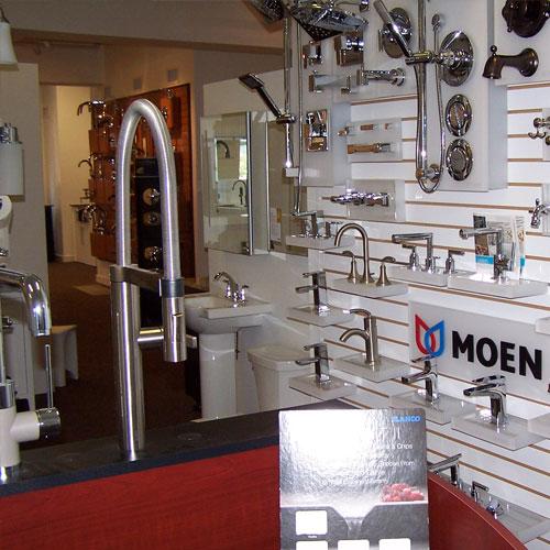Retail showroom weinstein supply for Weinstein kitchen and bath